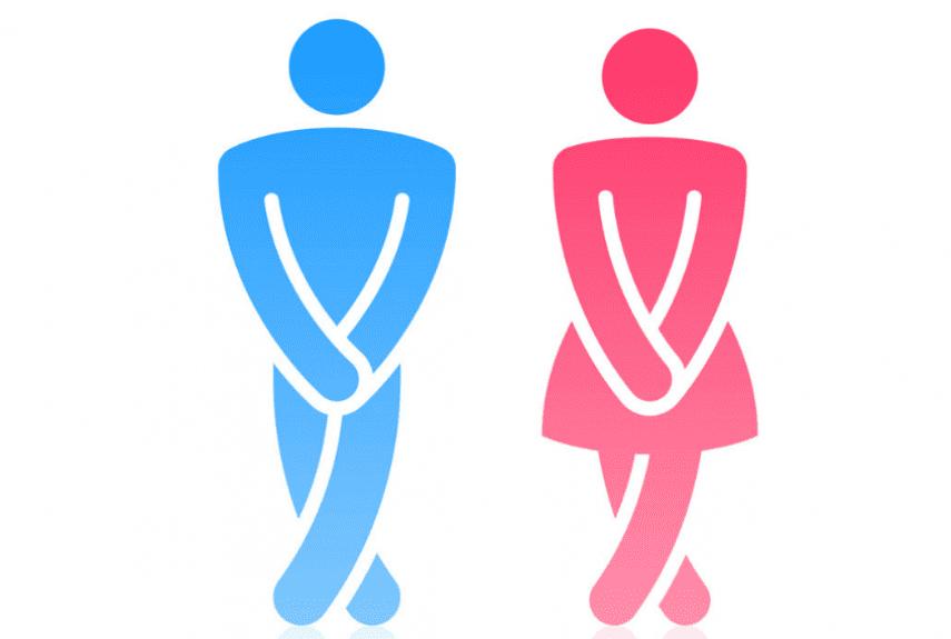 мужское и женское недержание